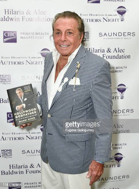 Gianni Russo attends Authors Night With The East Hampton Library on August 10 2019 in East Hampton New York
