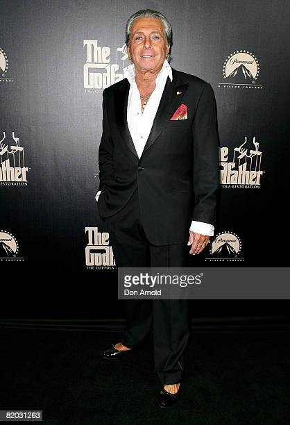 Gianni Russo attends the Godfather Symphony Premiere and DVD release at the State Theatre on July 22 2008 in Sydney Australia