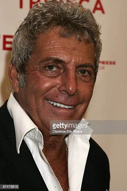 Gianni Russo attends the premiere of Toots during the 5th Annual Tribeca Film Festival at Pace University MS Center For The Arts April 27 2006 in New...