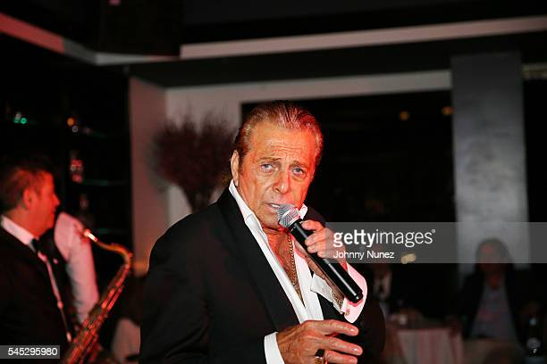 Gianni Russo performs at Boutique Nightclub on July 6 2016 in New York City