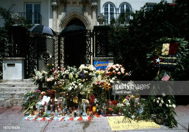 Gianni Versace murder on July 15 1997 in Miami Florida
