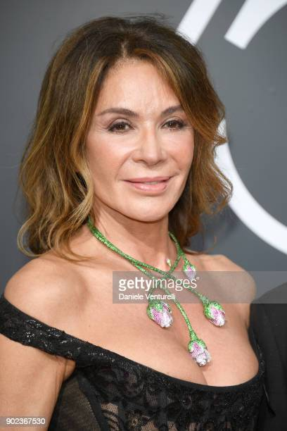 Giannina Facio attends The 75th Annual Golden Globe Awards at The Beverly Hilton Hotel on January 7, 2018 in Beverly Hills, California.