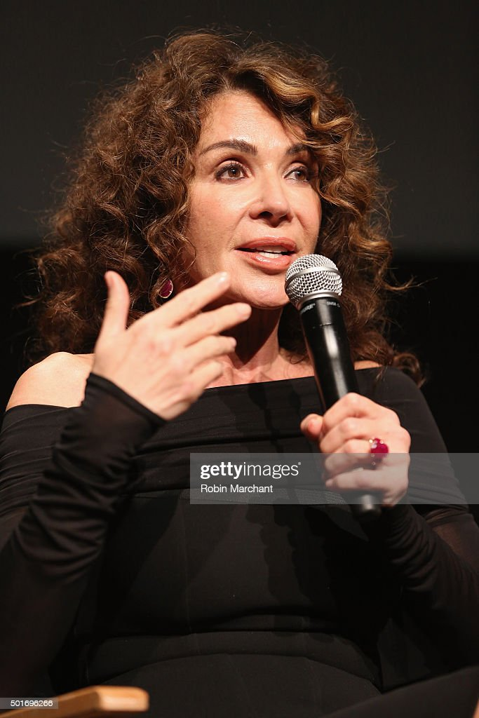 Giannina Facio attends The Academy Of Motion Picture Arts And Sciences Hosts An Official Academy Screening Of CONCUSSION on December 16, 2015 in New York City.