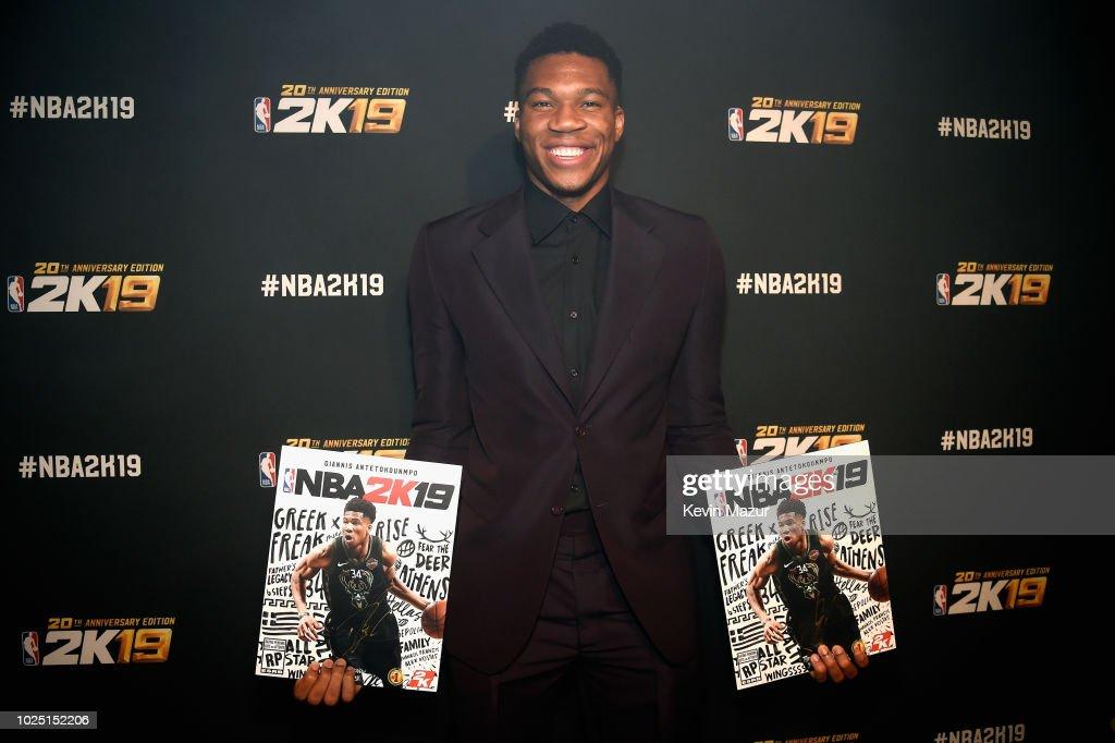 NBA 2K19 Launch Event : Nachrichtenfoto