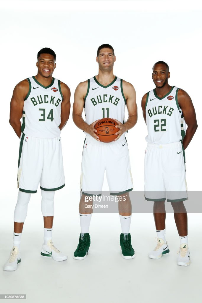 2018 Milwaukee Bucks Media Day : News Photo
