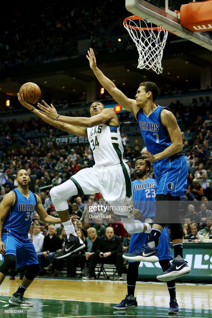 Dallas Mavericks v Milwaukee Bucks