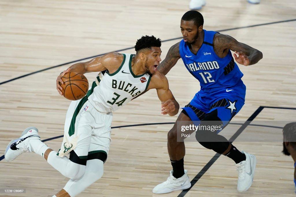 Orlando Magic v Milwaukee Bucks - Game Two : News Photo