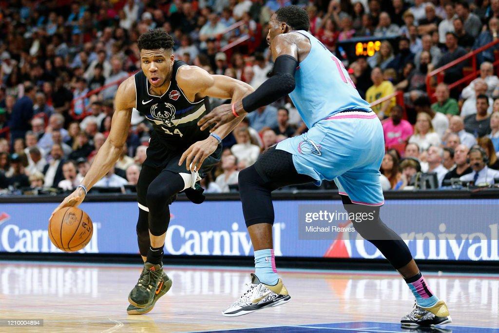 Milwaukee Bucks v Miami Heat : News Photo