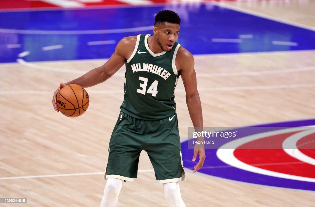 Milwaukee Bucks v Detroit Pistons : News Photo