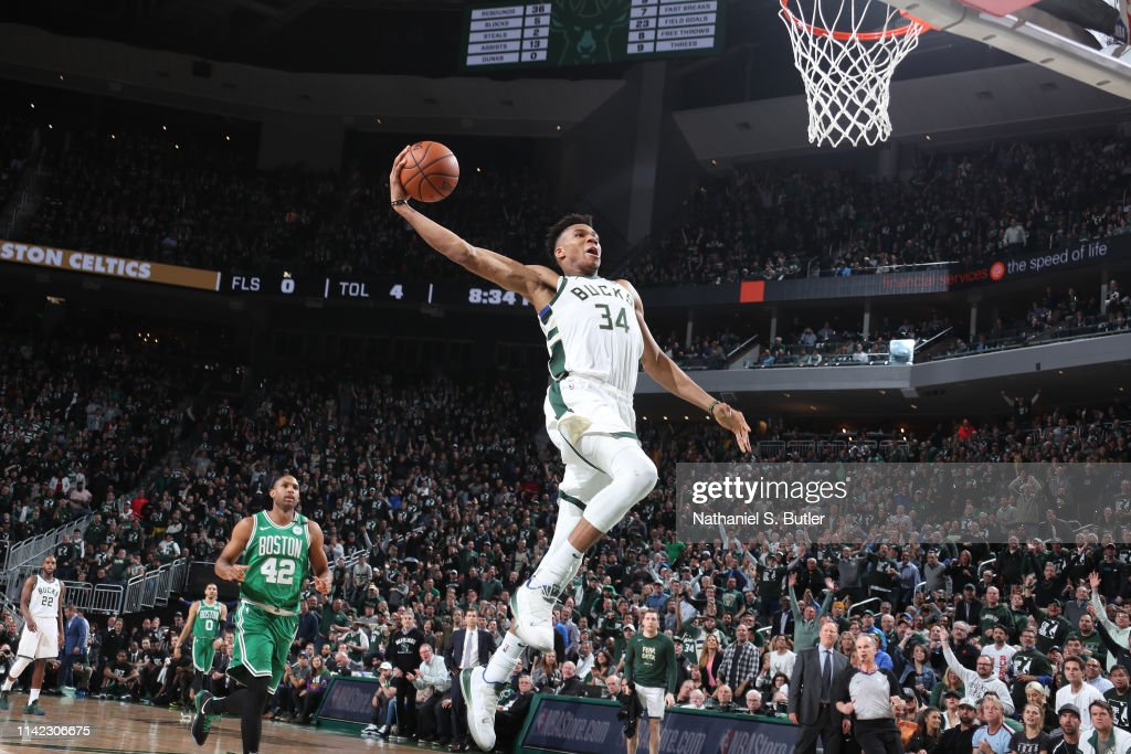 Eastern Conference Semifinals - Boston Celtics v Milwaukee Bucks : News Photo