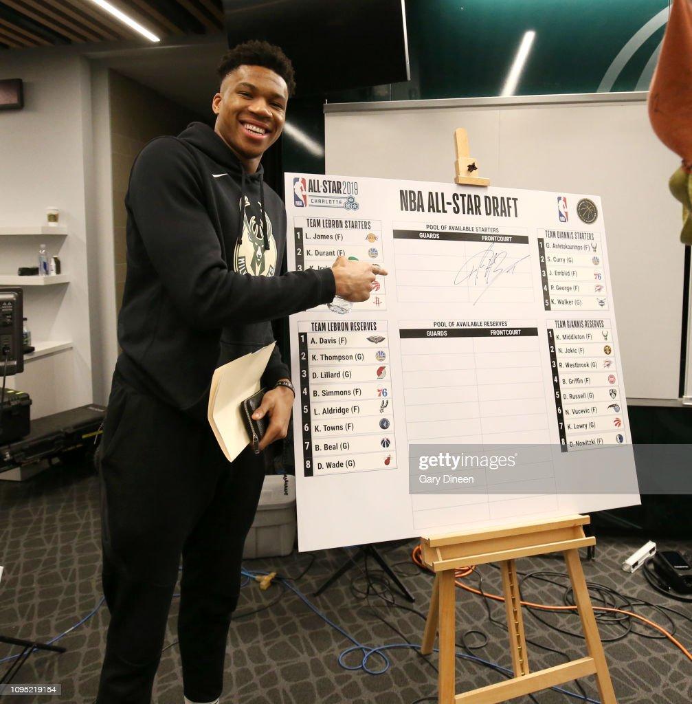 2019 NBA All-Star Draft : News Photo