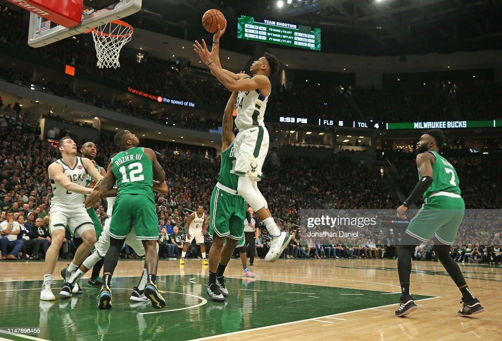 Boston Celtics v Milwaukee Bucks - Game Five : News Photo