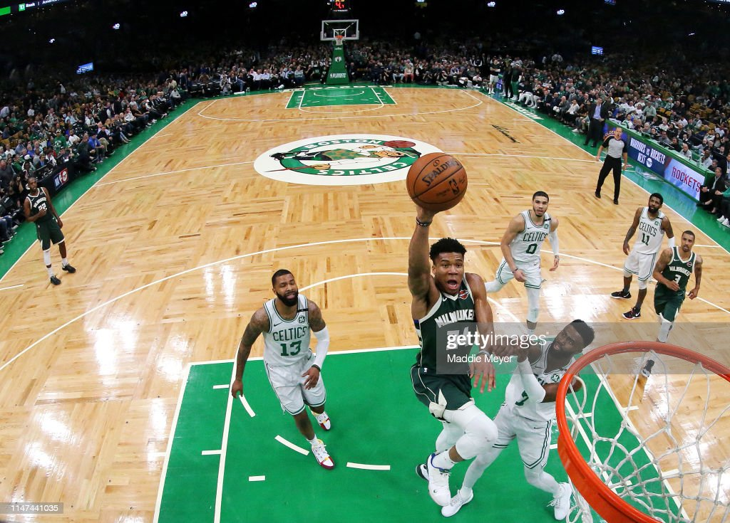 Milwaukee Bucks v Boston Celtics - Game Four : News Photo