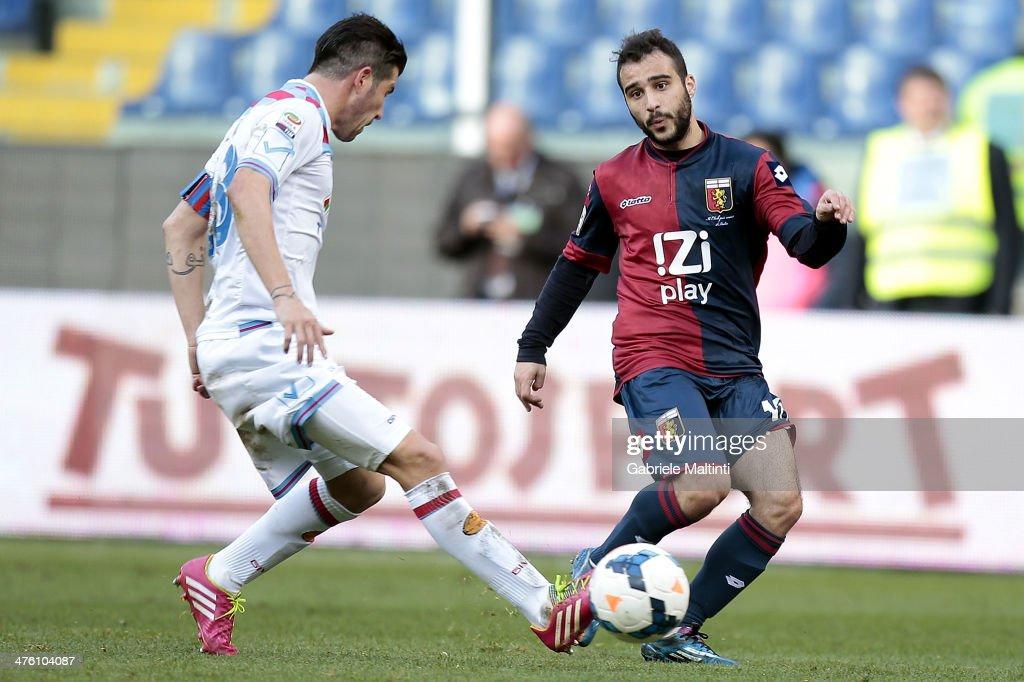 Genoa CFC v Calcio Catania - Serie A : News Photo