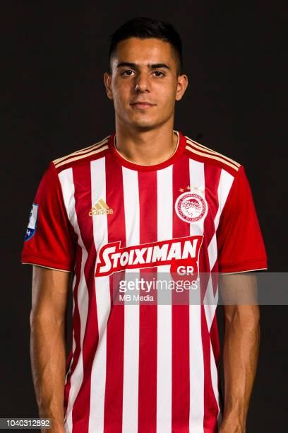Giannis Masouras Olympiacos Photocall Season 2018/19