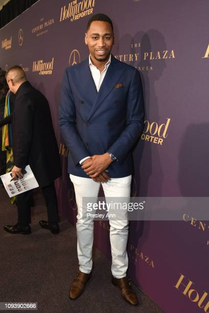 Gianno Caldwell attends The Hollywood Reporter's 7th Annual Nominees Night presented by MercedesBenz Century Plaza Residences and Heineken USA at CUT...