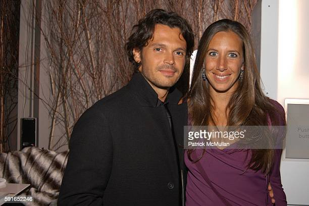 Gianpaolo De Felice and Gabby Karan De Felice attend 10th Annual Intimate Holiday Dinner with Friends to benefit AIDS Community Research Initiative...