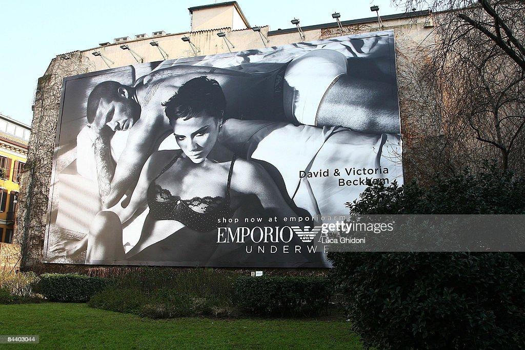 New Emporio Armani Advertising Campaign : News Photo