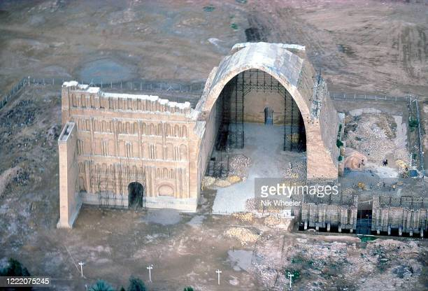 PAK JANUARY 1978 Giant archway of Ctesiphon known as Tak Kasra built in 36th centuries AD and part of a place belonging to the Royal capital of the...