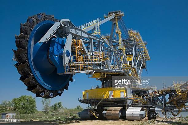 Grande roue excavator Seau