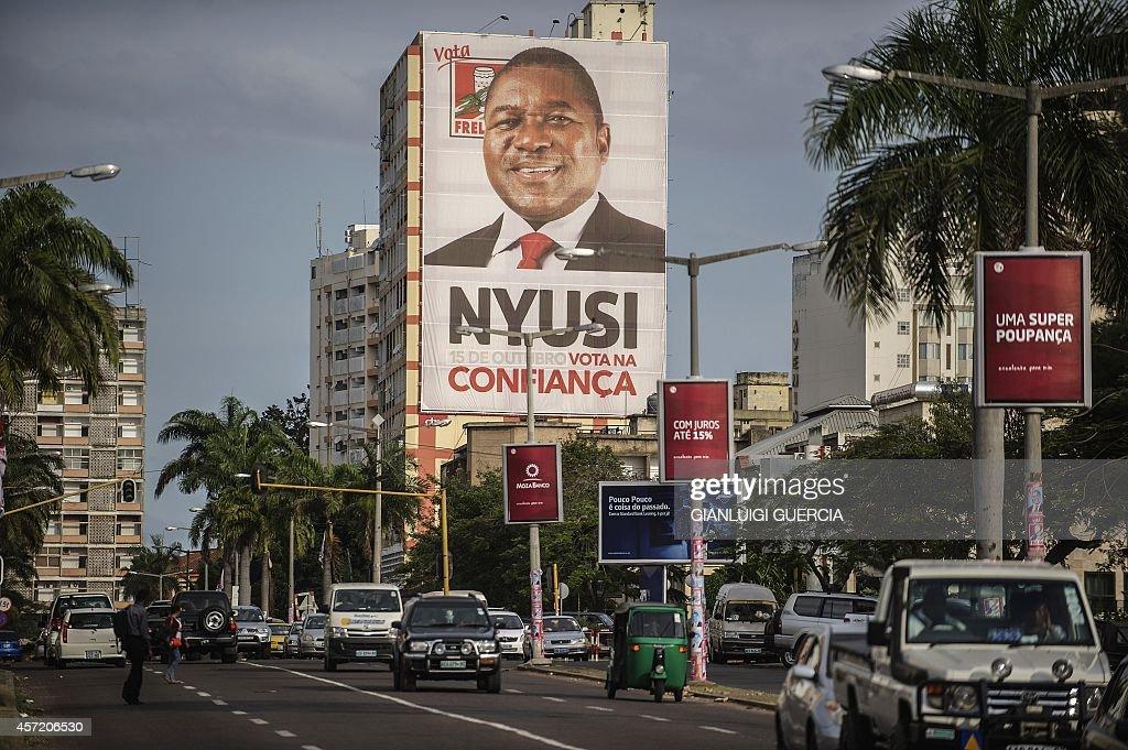 MOZAMBIQUE-VOTE : News Photo