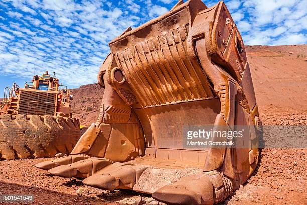 Giant excavator bucket Tom Price