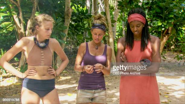 'A Giant Game of Bumper Cars' Angela Perkins Angela Perkins and Laurel Johnson on the twelfth episode of Survivor Ghost Island airing Wednesday May 9...