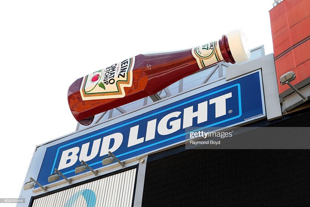 Heinz Field Scoreboard Ketchup Bottles