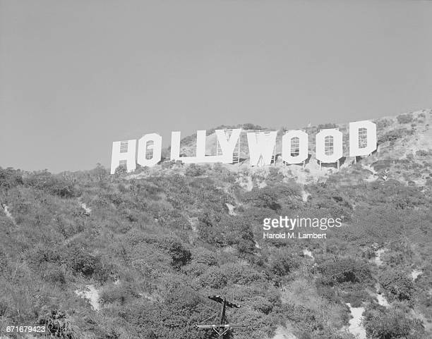 Giant Hollywood Sign