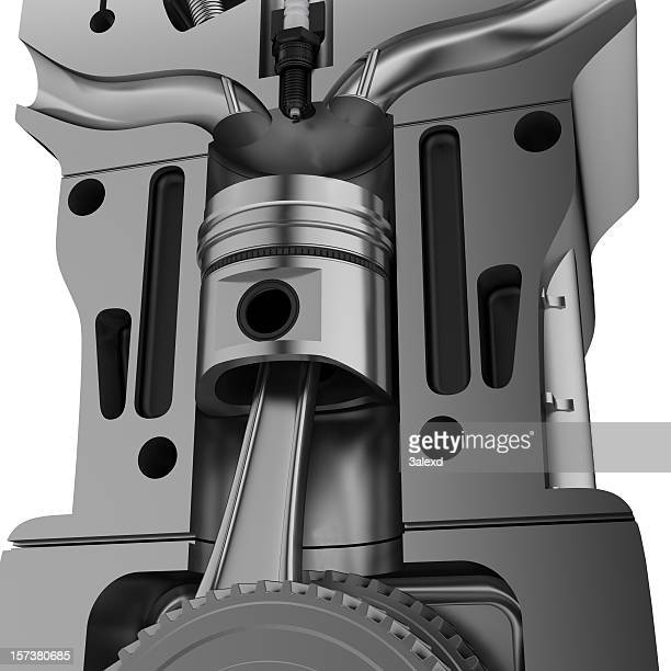 a giant illustration of a motor - cylinder stock pictures, royalty-free photos & images