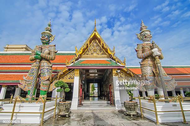 Giant in Wat Phra Kaew temple, Bangkok,thailand