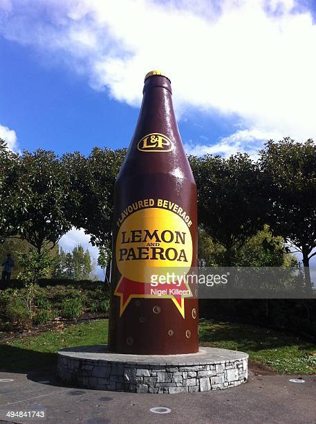 Giant LP Bottle Home of the Popular New Zealand Soft Drink Paeroa New Zealand