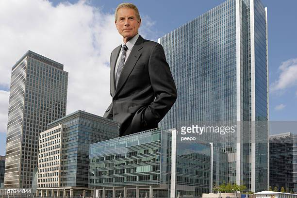 giant mature businessman