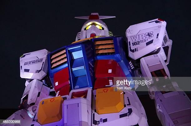 巨大ロボットガンダム - 実物大 ストックフォトと画像
