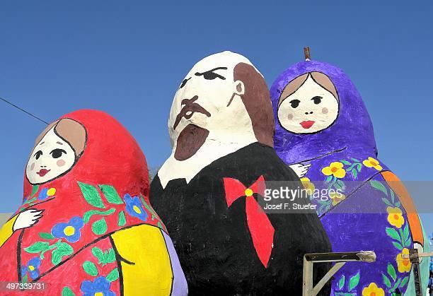 Giant Russian babushka's