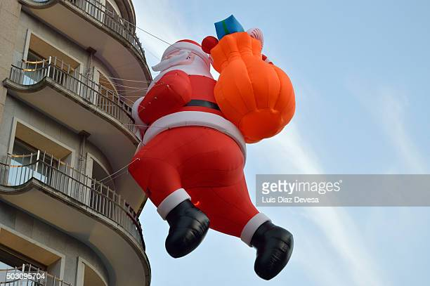 Giant Santa Claus decoration
