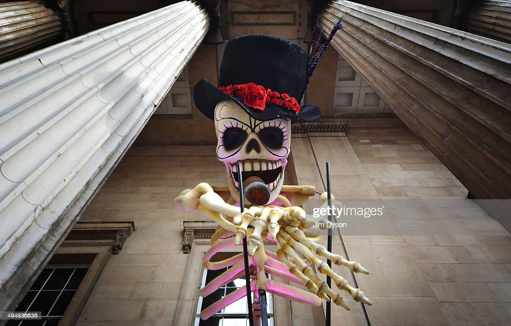 The British Museum Unveils Days Of The Dead Exhibits : News Photo