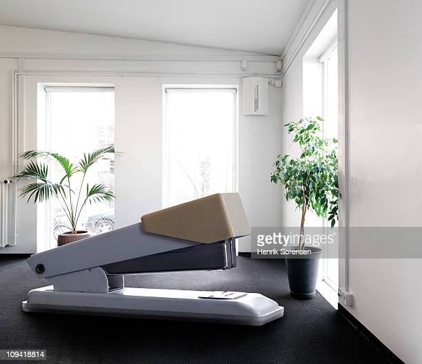 giant stapler on the floor inside office building - oversized stock pictures, royalty-free photos & images