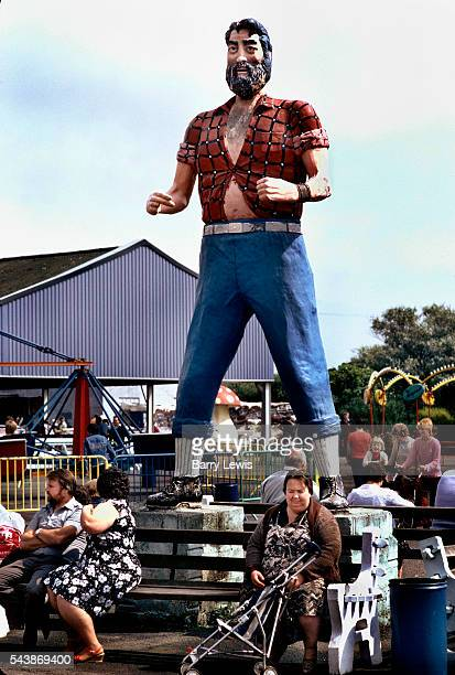 Giant statue Butlins Holiday camp Skegness Butlins Skegness is a holiday camp located in Ingoldmells near Skegness in Lincolnshire Sir William Butlin...