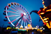 Giant Wheel on the Funfair