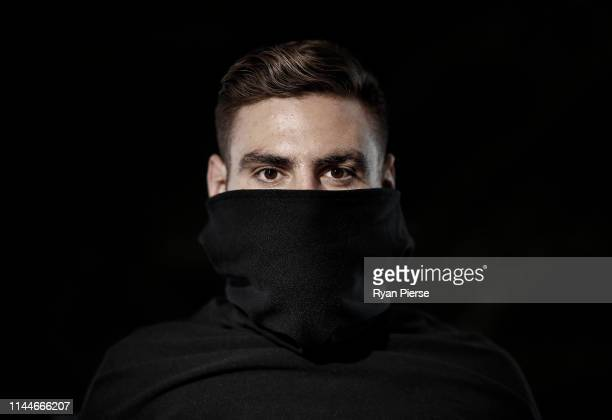 Giants AFL player Stephen Coniglio poses during a portrait session on April 23 2019 in Sydney Australia