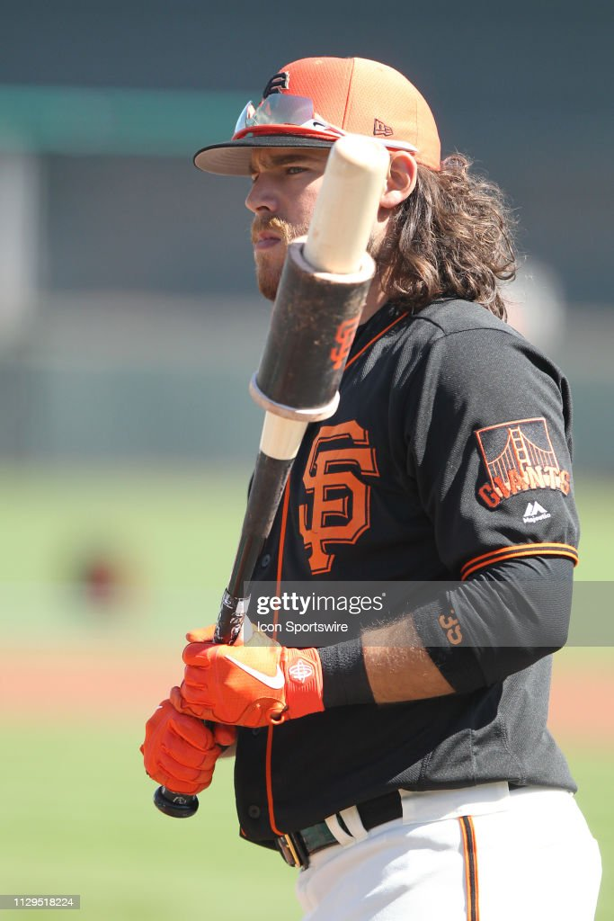 MLB: MAR 09 Spring Training - Cubs (ss) at Giants : News Photo