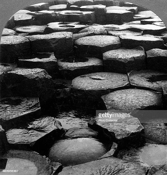 Giant's Causeway Antrim Northern Ireland Legend has it that the Irish giant Finn McCool built the Giant's Causeway in order to cross the Irish Sea to...