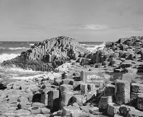 Giants Causeway, County Antrim, Northern Ireland, 1976.