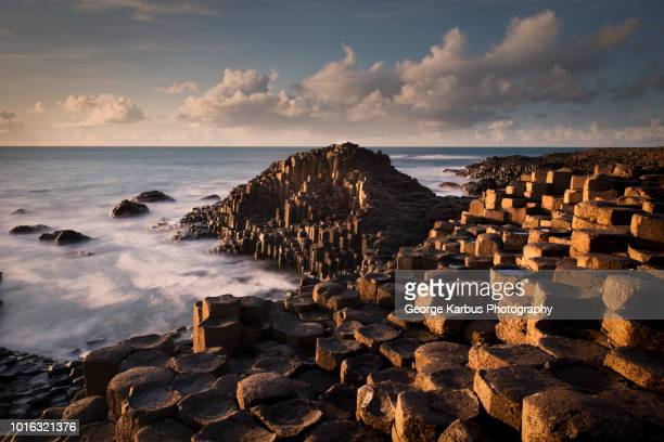 giant's causeway, county antrim, northern ireland, uk - giant's causeway stock pictures, royalty-free photos & images