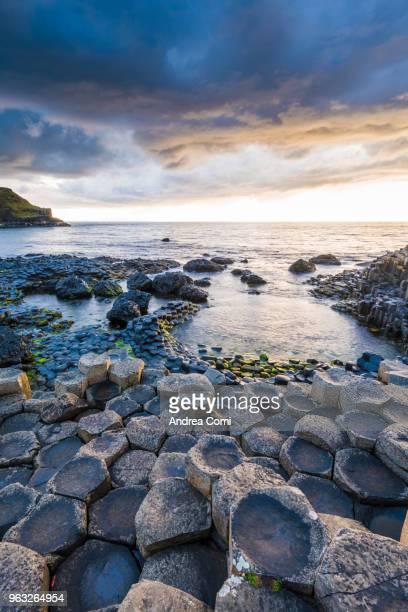 Giant's Causeway, County Antrim, Ulster region, Northern Ireland, United Kingdom.