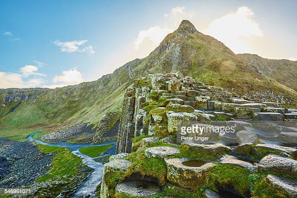 giants causeway, northern ireland - county antrim stock pictures, royalty-free photos & images