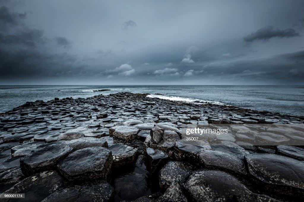 Giants Causeway, Nordirland : Stock-Foto