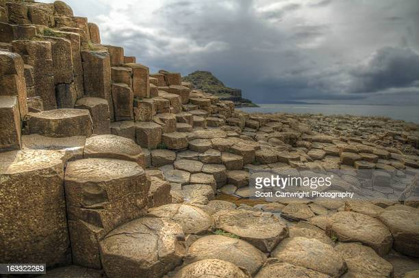 giant's causeway - giant's causeway stock pictures, royalty-free photos & images