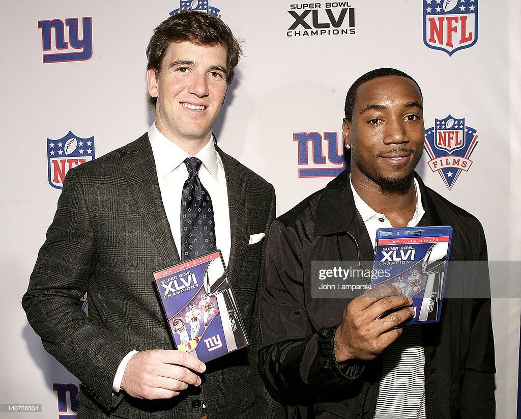 "Super Bowl XLVI Champions: New York Giants ""Blue Carpet"" VIP Premiere"